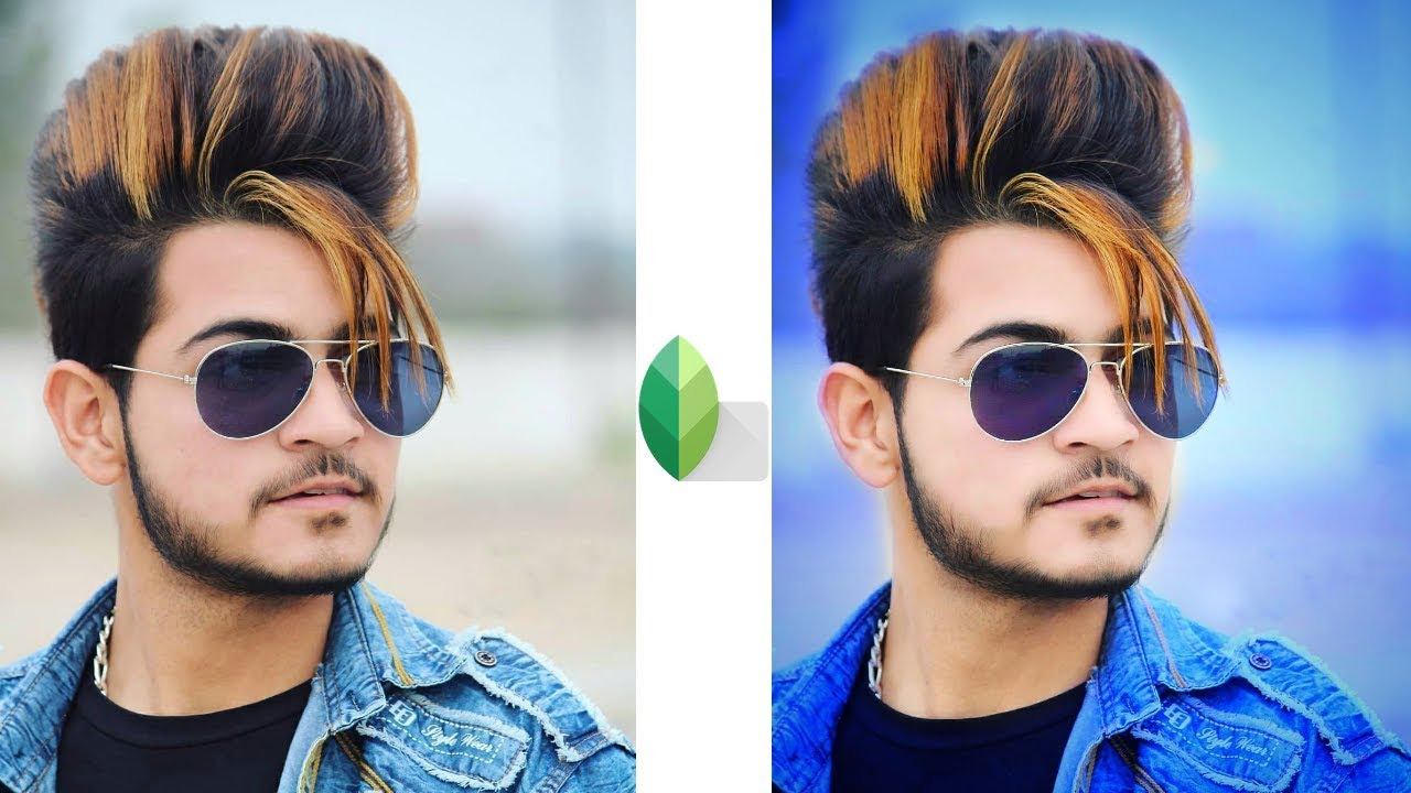 Snapseed Best Color Effect Editing Trick Face Smooth Change Hair