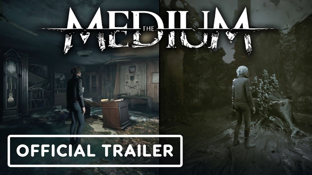 The Medium - Official Dual-Reality Gameplay Overview Trailer