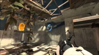 Portal 2: Walkthrough - Part 3 (Chapter 1 Lvl. 3-4) [1080p HD] (PS3/X360/PC) (Gameplay)