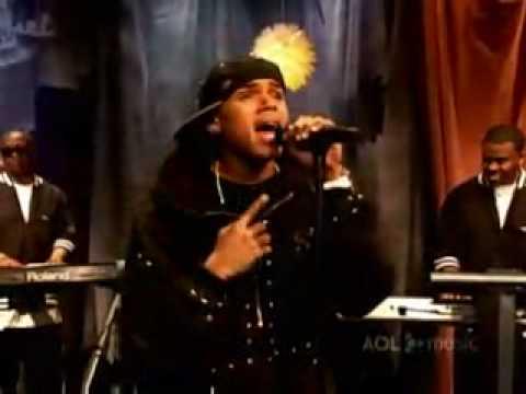Chris Brown - Winner ( LIVE IN AOL )