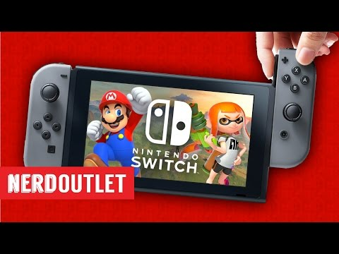 Nintendo Switch & Project Scorpio - Nerd Outlet Podcast Ep. 19