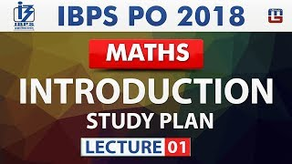 Introduction | Study Plan | Lecture 1 | IBPS PO 2018 | Maths | Live at 10 am