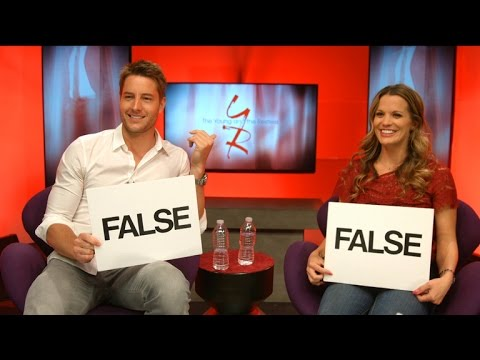 The Young and The Restless  Y&R CoStar Quiz: Justin Hartley vs Melissa Claire Egan