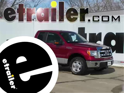 Installation of a Front Mount Trailer Hitch on a 2014 Ford F-150 - etrailer.com