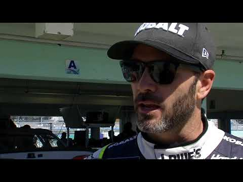 2017 Homestead testing Jimmie Johnson Interview