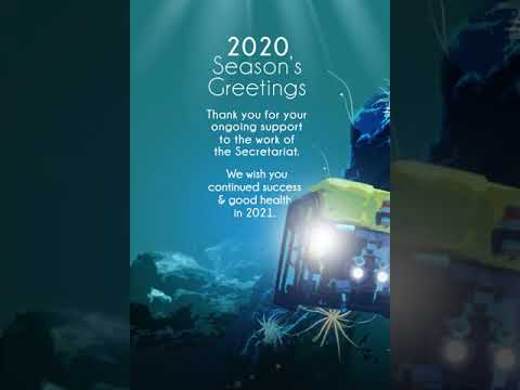 Seasons Greetings from the International Seabed Authority