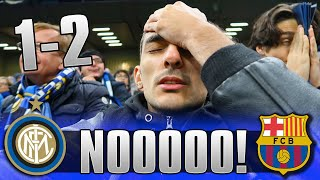 NON CI CREDO! INTER 1-2 BARCELLONA | LIVE REACTION SAN SIRO GOL HD