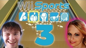Let's Play Wii Sports Part 3: Bowling Missionen & Multiplayer Match