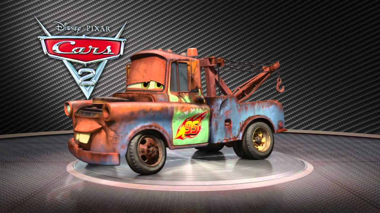 Cars 2 Turntable Mater Youtube