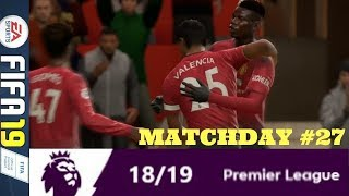 HATE GAME MAN UTD VS LIVERPOOL: MATCHDAY 27 PREMIER LEAGUE #ePL (FIFA 19)