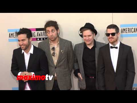 Fall Out Boy 2013 American Music Awards Red Carpet - AMAs 2013