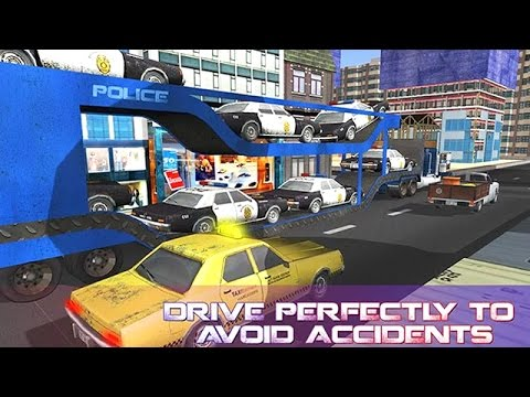 Police Car Transporter Truck (by Top 3D Gamers) Android Gameplay [HD]