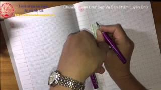 Hướng dẫn cách cầm bút đúng - luyện chữ đẹp Ánh Dương