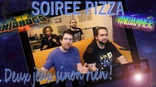 Soirée Pizza: Windjammers / Nidhogg 2