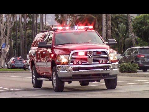 (New Truck) Redondo Beach Fire Dept. Battalion & Truck 61