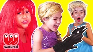 GETTING READY FOR THE PRINCESS PROM 💃 Hair Disaster Pranks - Princesses In Real Life | Kiddyzuzaa