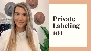 Private Labeling 101| How To Put YOUR Brand On Clothing