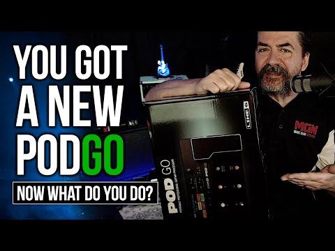 So You Got A New PodGo Now What Do You Do?