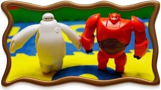 Бэймакс город героев. Обзор игрушек Бэймакс трансформеров. Baymax Big Hero 6 Toys
