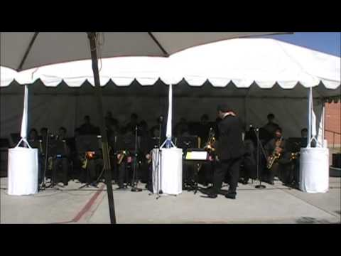 LQHS Jazz Band 2013 My Funny Valentine at Rock the House