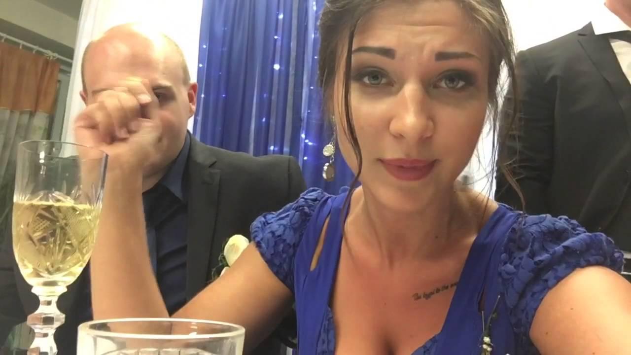 Напилася я пьяна 😂 Приколы на свадьбе 🙈 Свидетельница