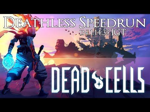 Dead Cells Deathless Speedrun in 1:14:33 IGT