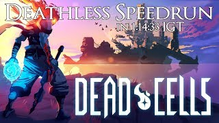 Dead Cells Deathless Speedrun in 1:14:33 IGT