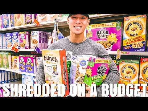 SHREDDED ON A BUDGET? | UNDER $50 GROCERY HAUL | TC EPISODE 5