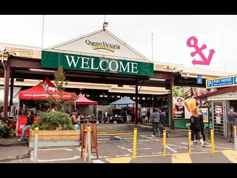 Visit of Queen Victoria Market in Melbourne Australia