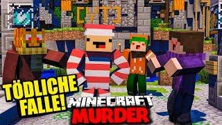 EINE TÖDLICHE FALLE FÜR NEBELNIEK ✪ Minecraft MURDER