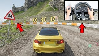 Forza Horizon 4 Drifting Like A BOSS (Steering Wheel + Shifter) BMW M4 Fortune Island Gameplay