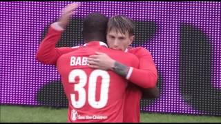Il gol di Bernardeschi - Sassuolo - Fiorentina - 2-2 - Giornata 35 - Serie A TIM 2016/17