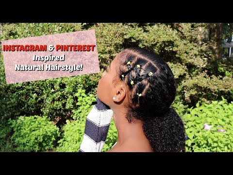 Twist Hairstyle With A Braid Out On Natural Hair Youtube