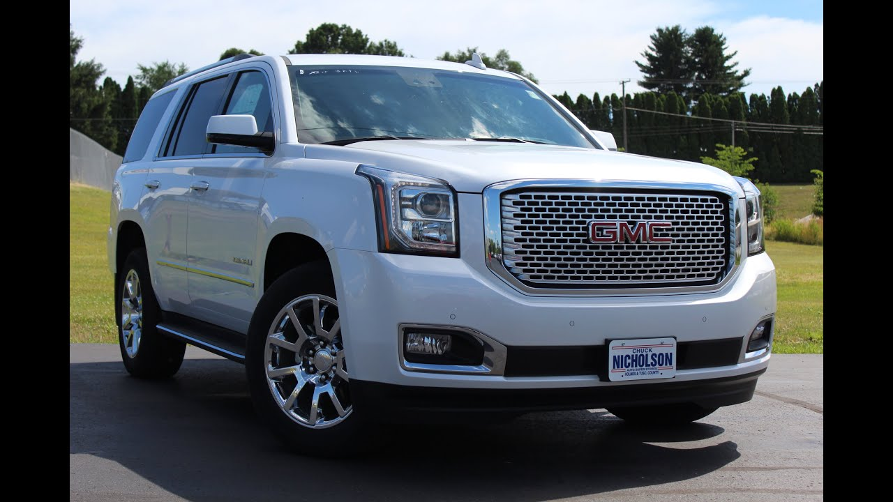 2016 GMC Yukon Denali  6 2L 8 Speed  Start Up  Complete Tour  and     2016 GMC Yukon Denali  6 2L 8 Speed  Start Up  Complete Tour  and Review    YouTube
