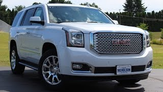 2016 GMC Yukon Denali (6.2L/8-Speed) Start Up, Complete Tour, and Review