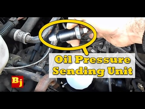 How To Change An Oil Pressure Sensor Youtube