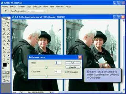 Tutorial Photoshop Cs6- Brillos y Sombras - YouTube
