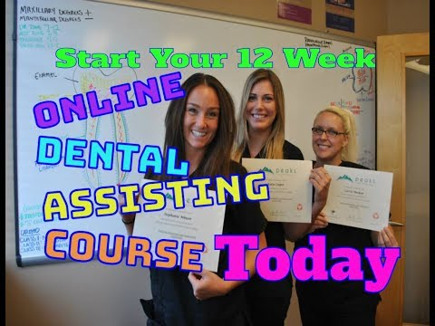 12 Week Online Dental Assistant Course | 🎓 Peaks Online Dental Assistant School | Online Course