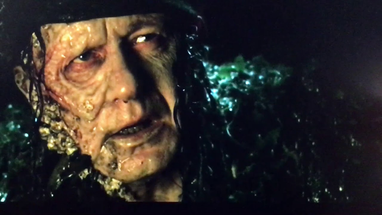 Pirates of the Caribbean 2 Captain Jack sparrow and Bootstrap Bill Turner  first scene Movie clip