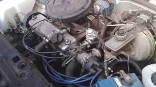 выхлоп Subaru на ВАЗ 2109 красно-черная