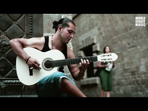 Street Guitarist in Barcelona: Pharaon (Spanish Guitar) HD