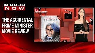 Sakshma Srivastav reviews The Accidental Prime Minister | It's Entertainment