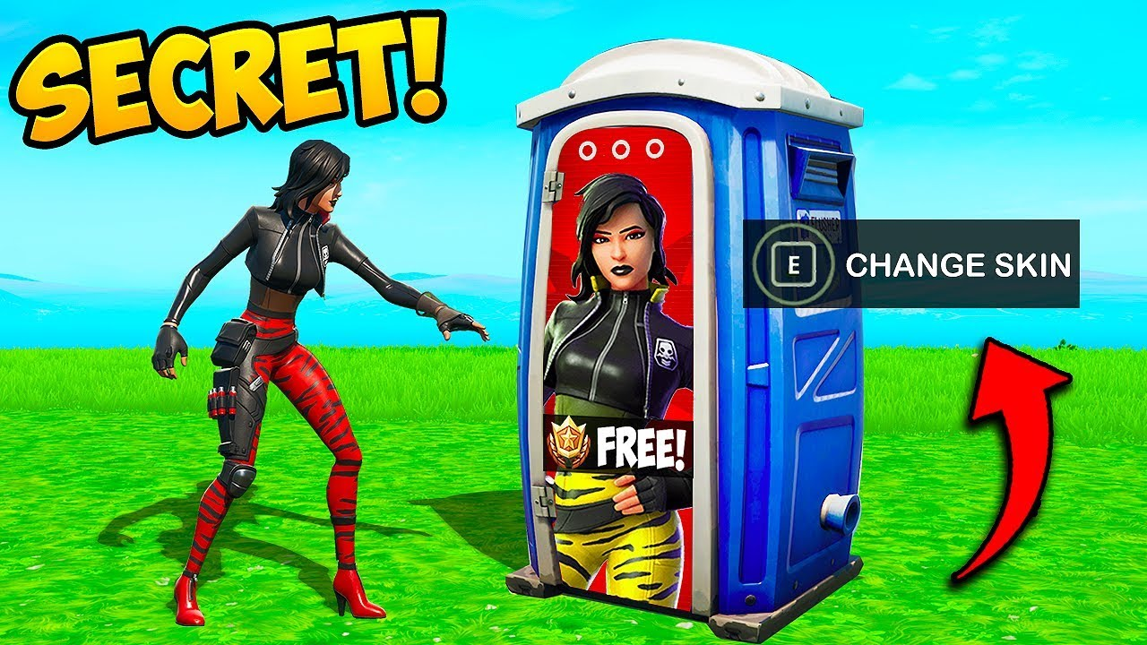 *NEW* SECRET SKIN UNLOCK!! - Fortnite Funny Fails and WTF Moments! #755 thumbnail
