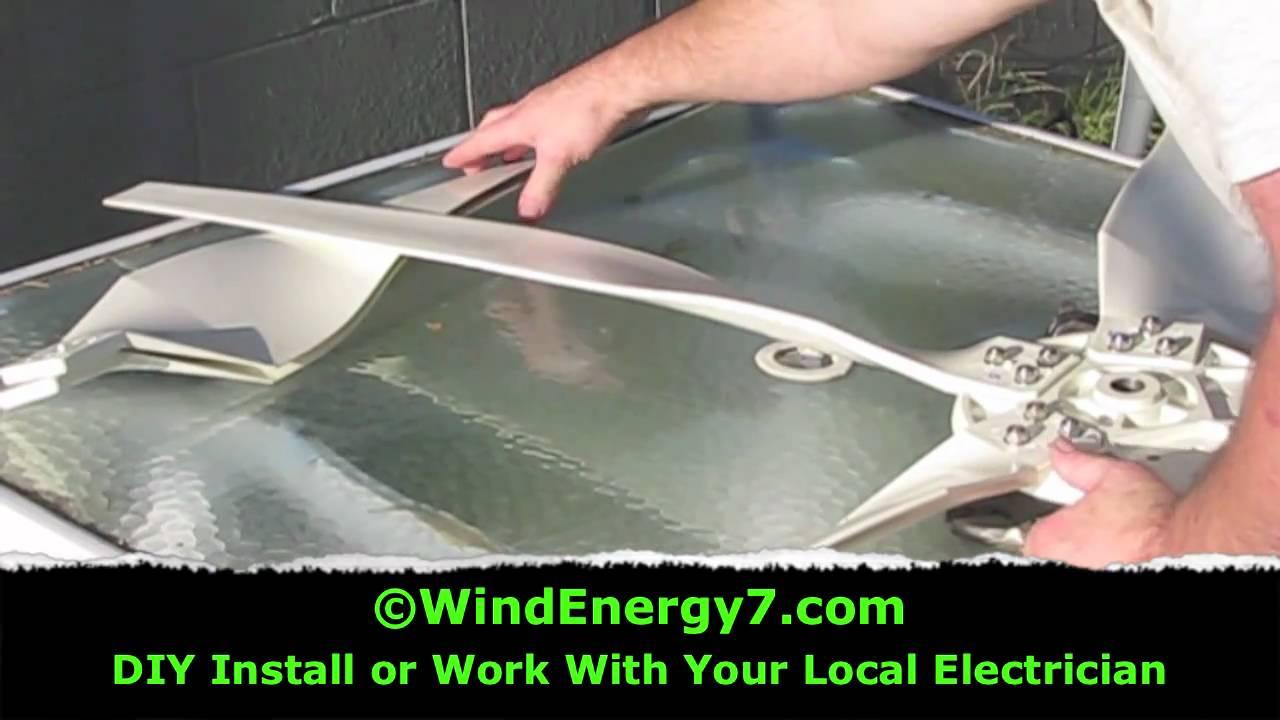 Wind Turbine Blades Design - YouTube