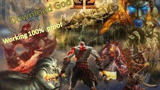 (100% Working) How to Download God of War 2 HIGHLY COMPRESSED ( JUST 188 MB)