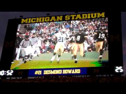 Desmond Howard Highlight Film - 9/10/2011