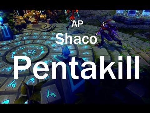 Instalok - AP Shaco Pentakill (PSY - GENTLEMAN PARODY)