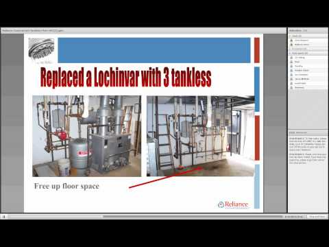 Green Technology Webinar - Reliance Home Comfort: Tankless Water Heaters