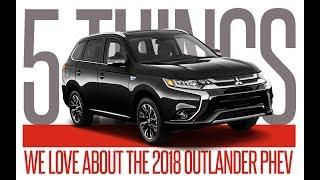 2018 Outlander PHEV: 5 Things We Love | Dixie Mitsubishi, Mississauga Ontario