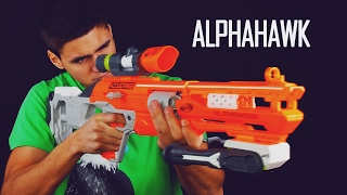 Nerf Accustrike Alphahawk - Celowanie w końcu ma sens!!!